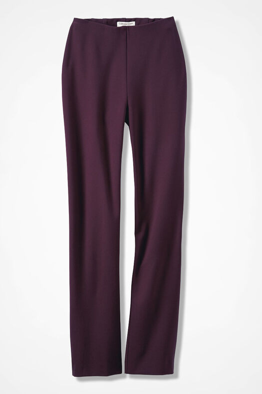 Ponte Perfect® Holly Pants, Blackberry, large