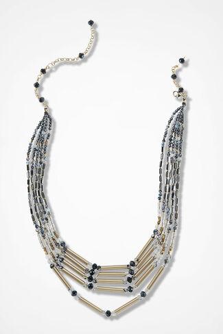 Terra Nova Necklace, Black Multi, large
