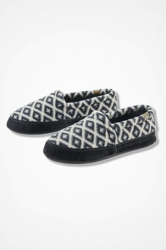 """Acorn Moc"" Slippers by Acorn®, Black Multi, large"