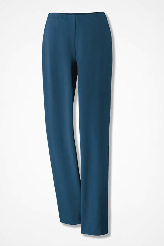 Ponte Perfect® Holly Pants, Dark Peacock, large