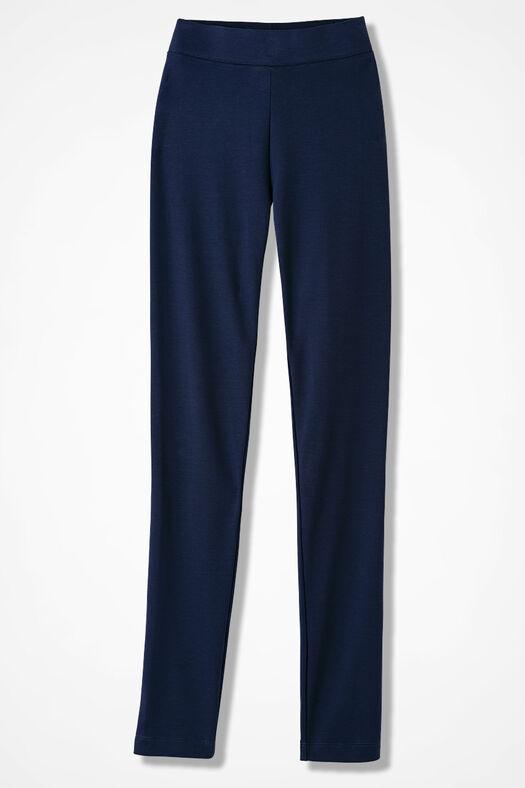 Essential Supima® Leggings, Navy, large