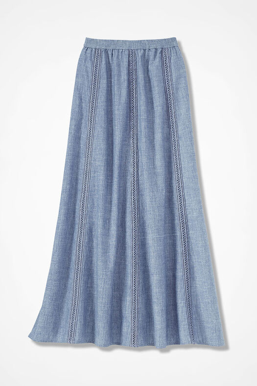 Chambray Dream Skirt by Coldwater Creek