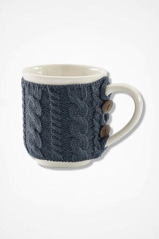 Snuggle Mug, Grey, large
