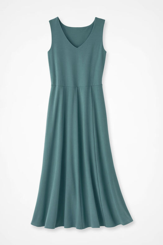 image of Swing into Spring Knit Dress, Reef Teal 0