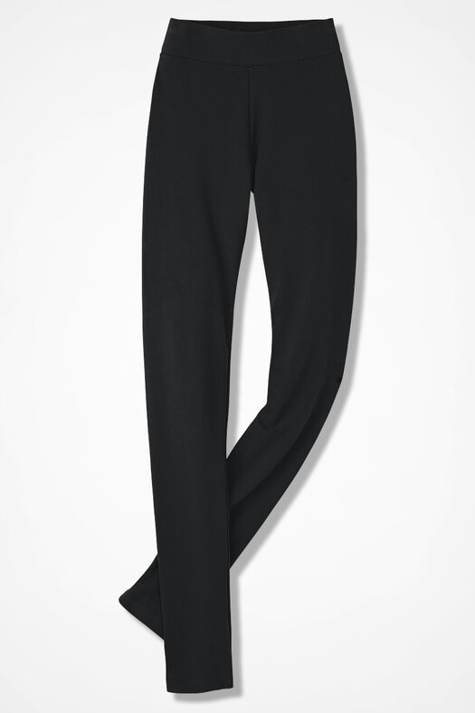 Essential Supima® Leggings, Black, large