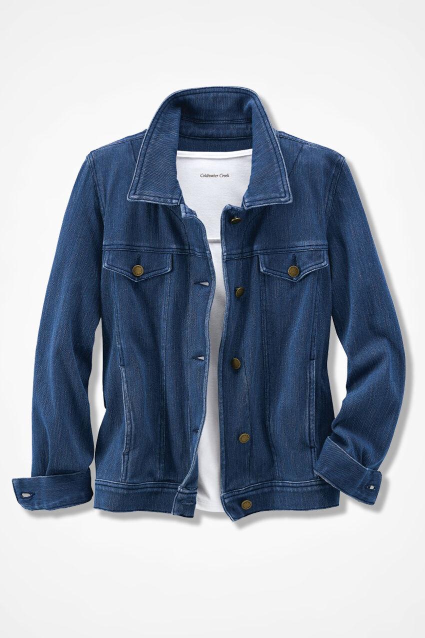 Women's Clothing Coldwater Creek Tapestry Brocade Jacket Blazer Sz M