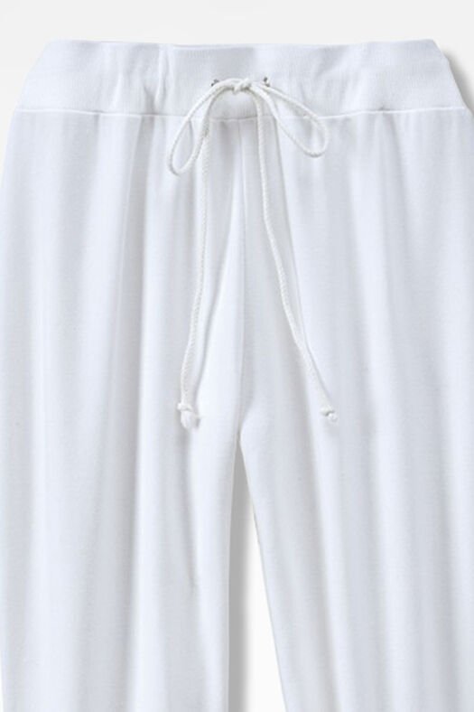 Essential Supima® Pants, White, large