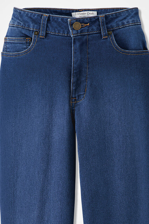 The Creek® ShapeMe® Relaxed Straight-Leg Jean, Medium Wash, large