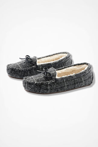 """""""Horizon"""" Moccasins by Walk With Me™, Grey Multi, large"""