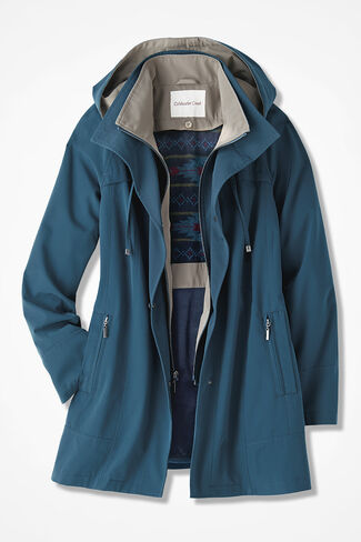 All-Season Jacket, Dark Peacock, large