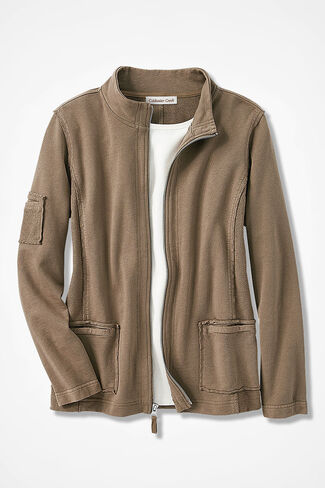 659bded33da Weekend-Ease French Terry Jacket