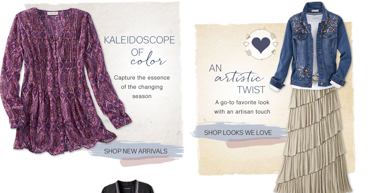 shop new arrivals and looks we love