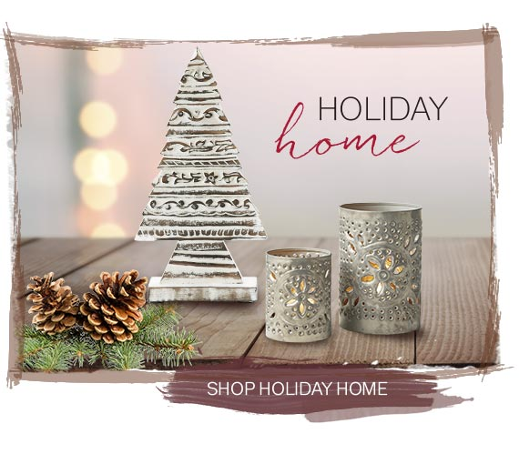 SHOP HOLIDAY HOME