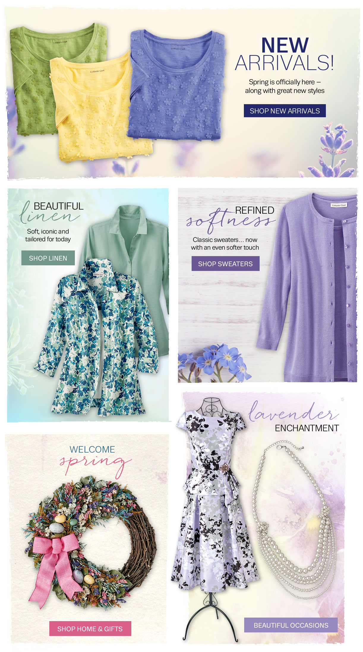 new arrivals sweaters linen home gifts beautiful occasions