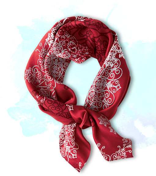 Coldwater Creek Holiday Scarf