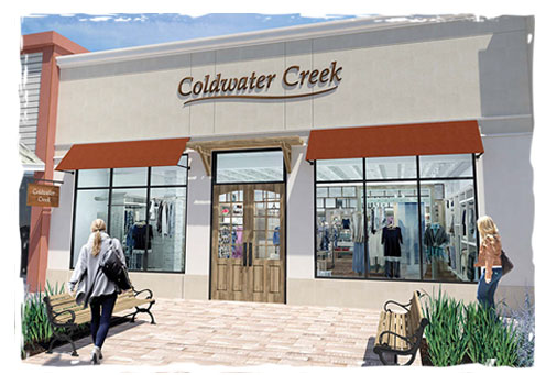 BURLINGTON COLDWATER CREEK STORE