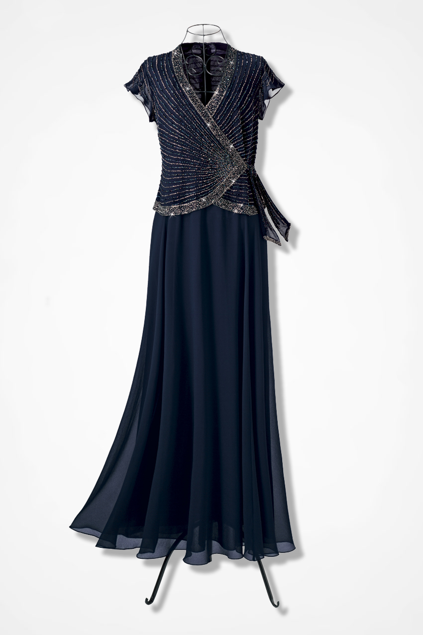656a41207c41 Grecian Gown by JKara™ - Coldwater Creek