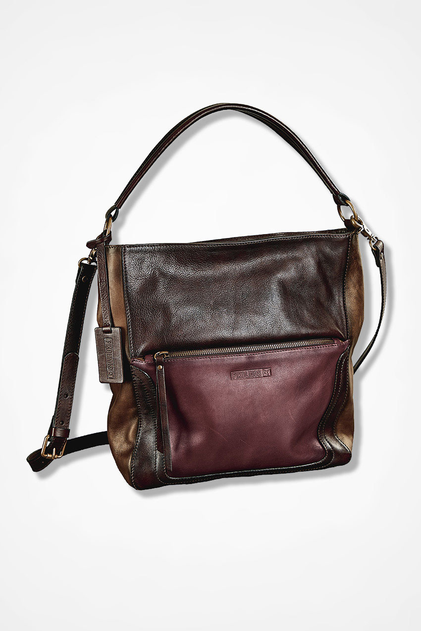 Tri Color Leather Bag By Pikolinos 174 Coldwater Creek