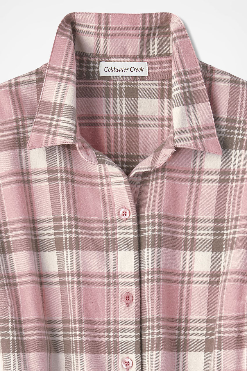 81ff7360400f77 Womens Petite Flannel Shirt – EDGE Engineering and Consulting Limited