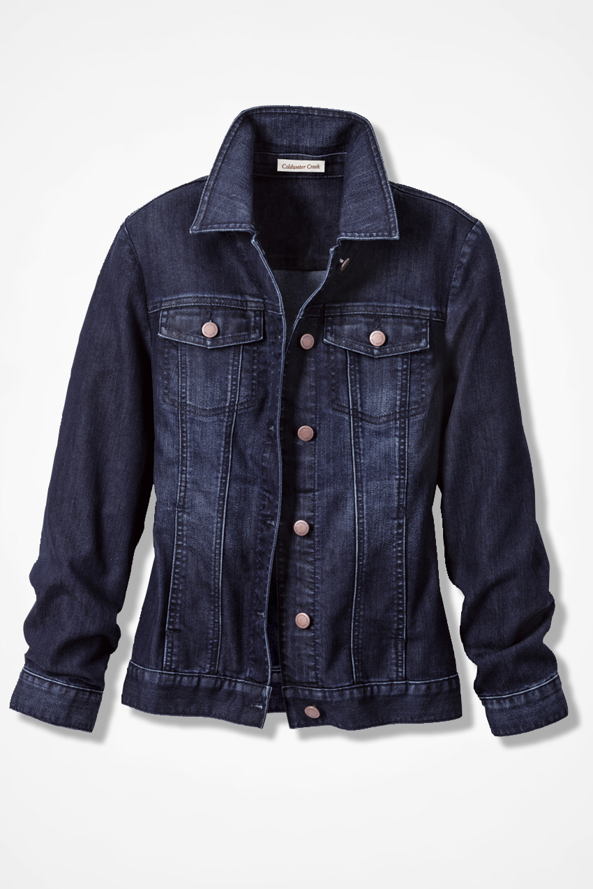 Denim Jackets Outerwear. Clothing. Women. Womens Coats & Jackets. Denim Jackets Outerwear. Showing 48 of results that match your query. Search Product Result. Product - Cover Girl Jeans Denim Jacket for Women Distressed Long Sleeve Size Small Denim .
