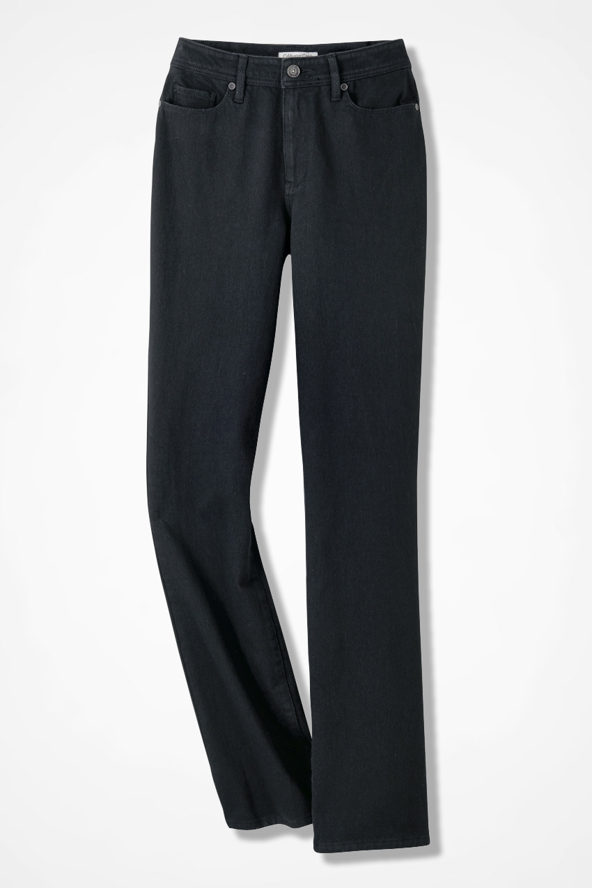 Knit Denim Bootcut Jeans Coldwater Creek