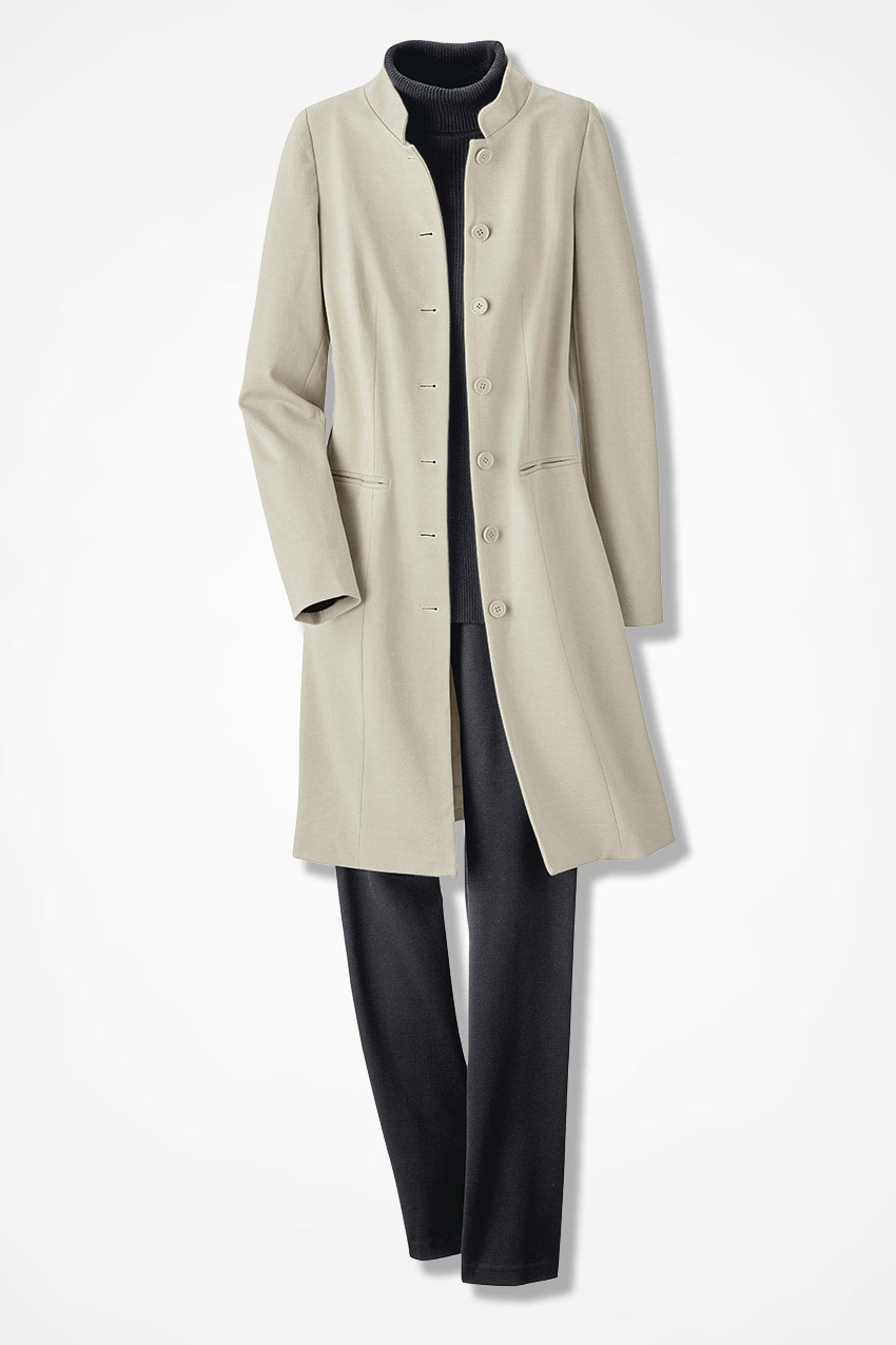 Ponte Perfect Duster Jacket