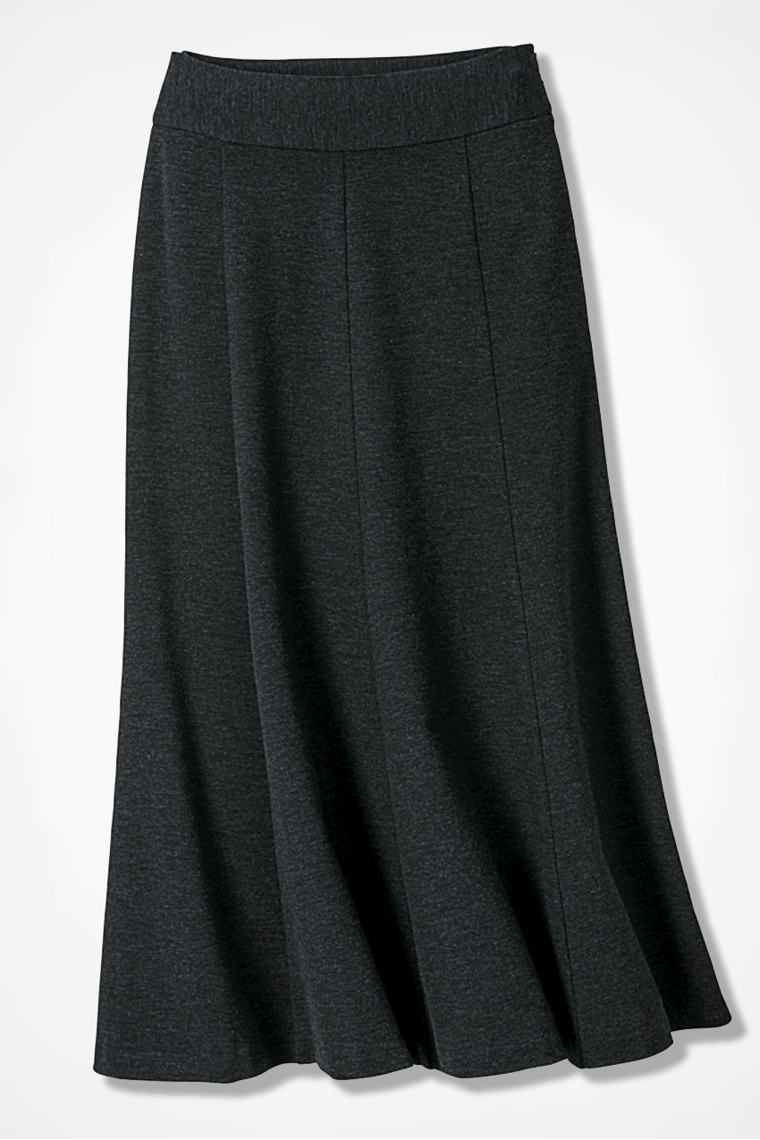 Ponte Perfect Boot Skirt - Women's Skirts | Coldwater Creek