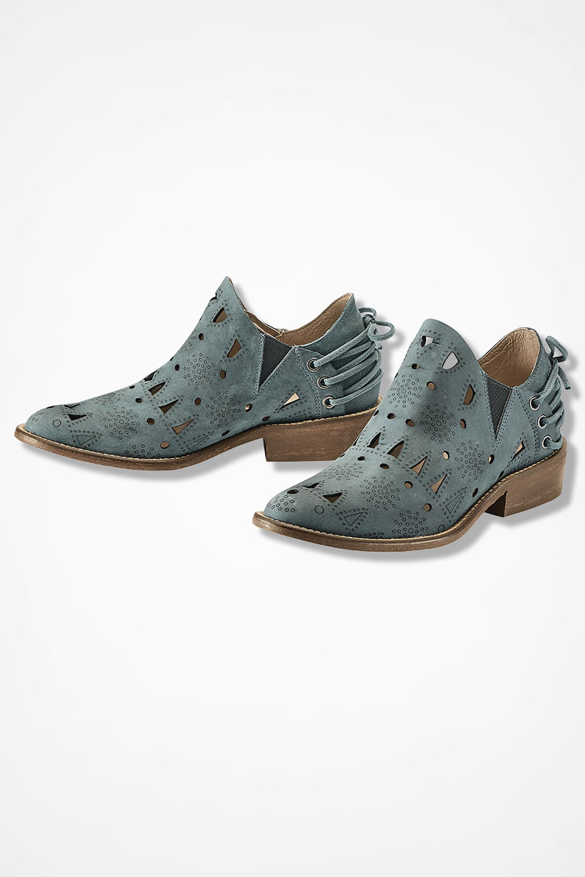 "1d97e2180 ""Coolise"" Booties by Musse & Cloud™, Dark Shale Green, large. """