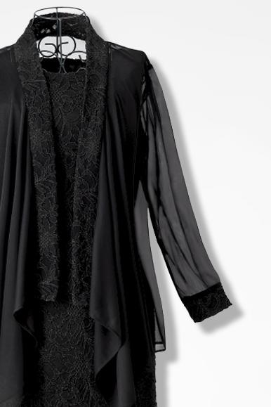 Lace Amp Chiffon Jacket Dress By Tiana B Coldwater Creek