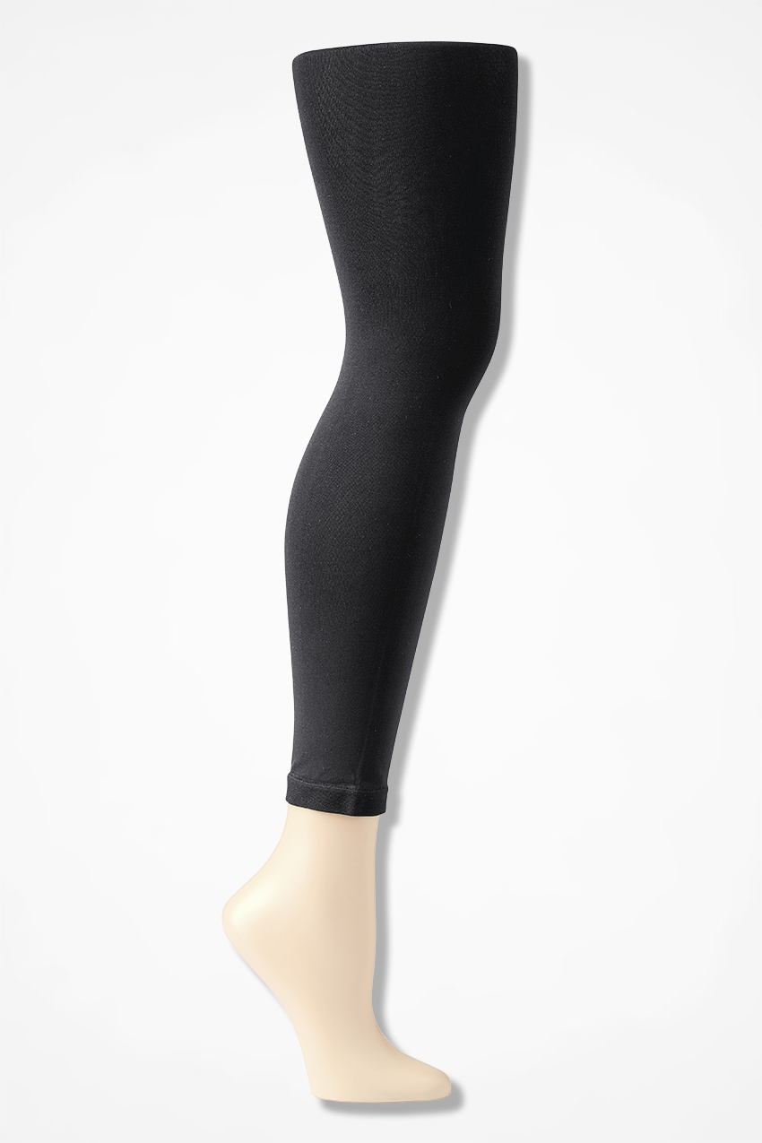 5ed16038ed2c9f Coldwater Creek® Opaque Footless Tights - Coldwater Creek