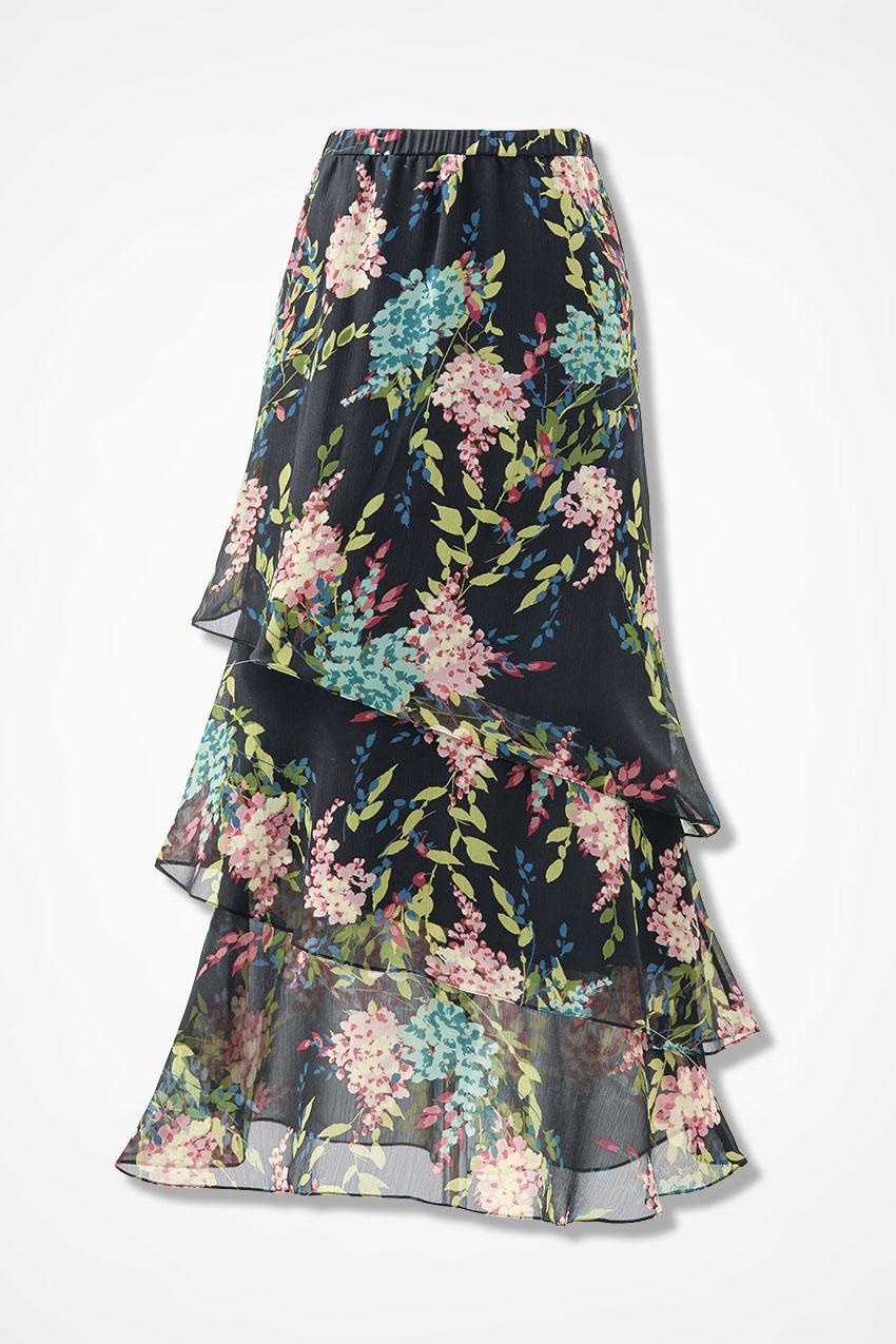 b35e275b2a80c Casual Black Maxi Skirt Outfit   Saddha
