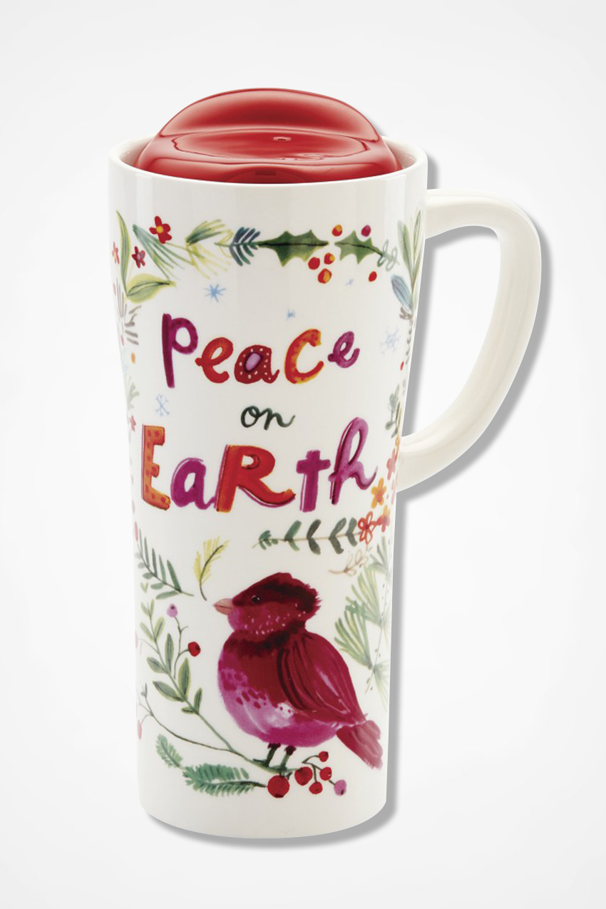 holiday ceramic travel mug coldwater creek