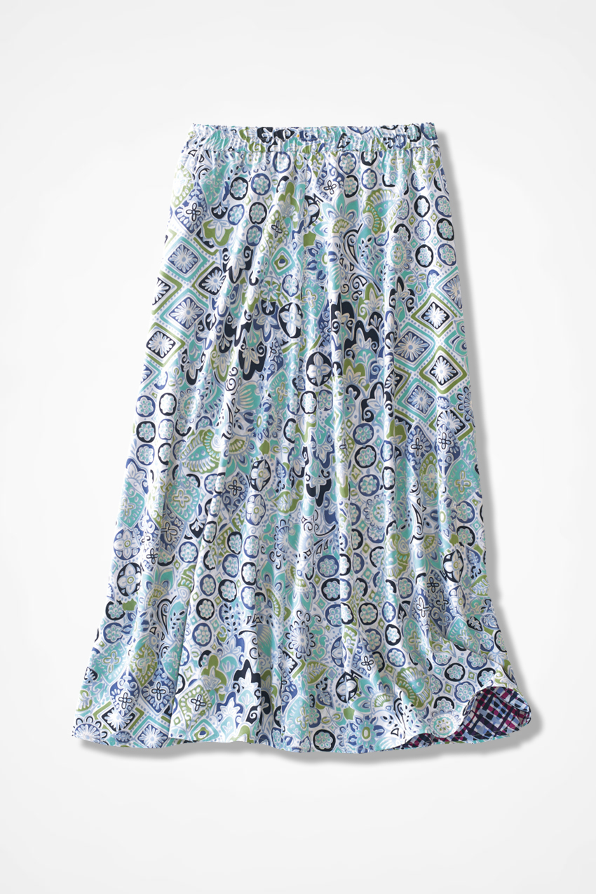 d871610afa Delightful Duo Reversible Skirt, Bright Aqua, large