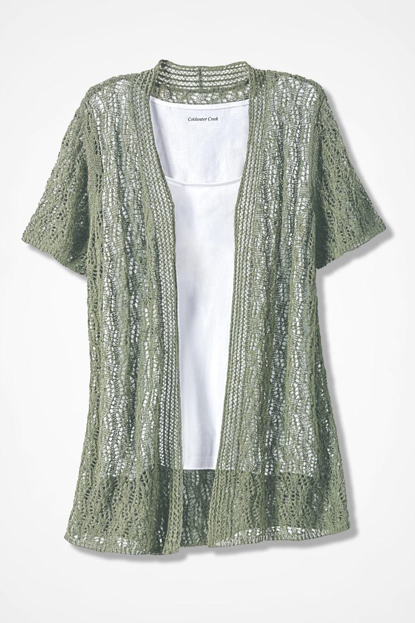 5a93c53305 Breezy Open Pointelle Cardigan - Women s Sweaters