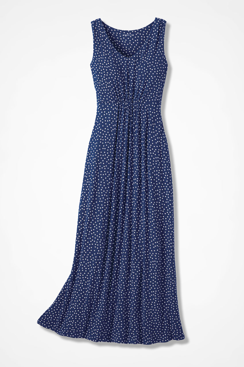 dotsamillion maxi dress coldwater creek