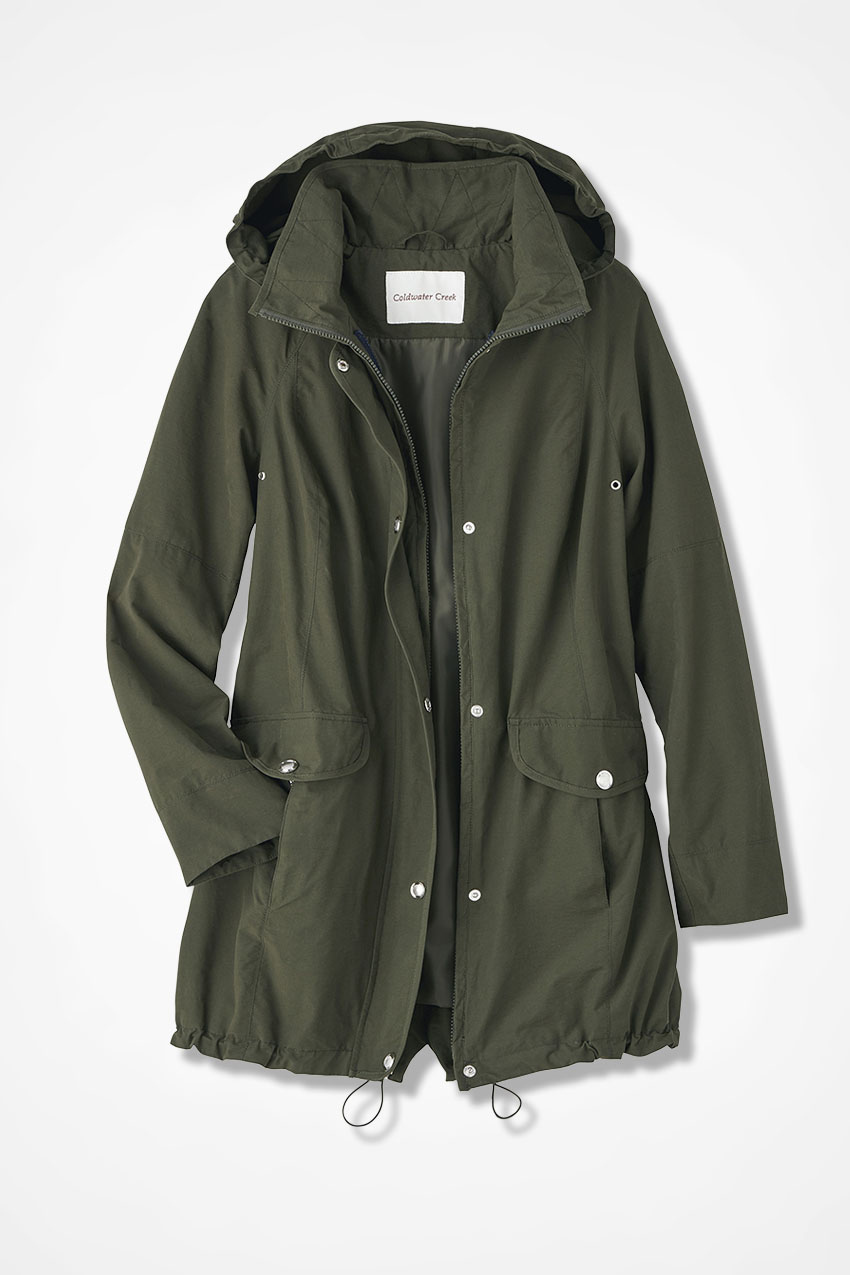 12b70af90 Three-in-One All-Weather Coat - Coldwater Creek