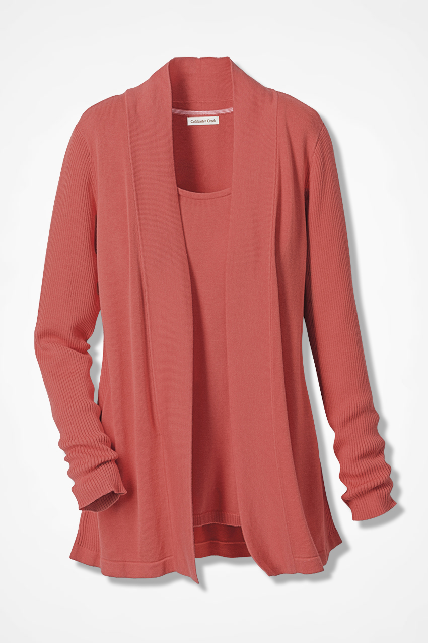 47a5aaac76c1 Classic Open Front Cardigan