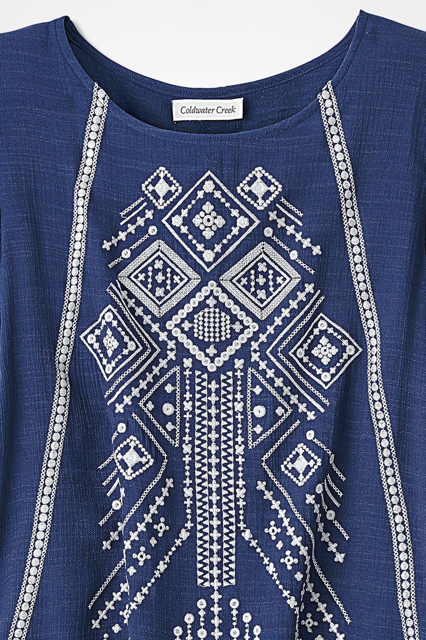 e8a2e81b9cfa2 Desert Riches Embroidered Tunic