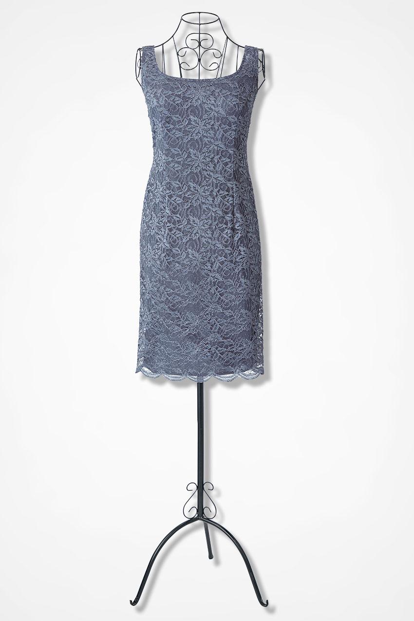 3038e5b73a Timeless Lace Jacket Dress by Alex Evenings - Coldwater Creek