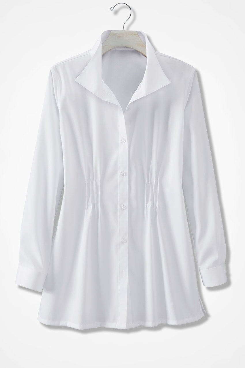 Easy Care Wing Collar Tunic Coldwater Creek