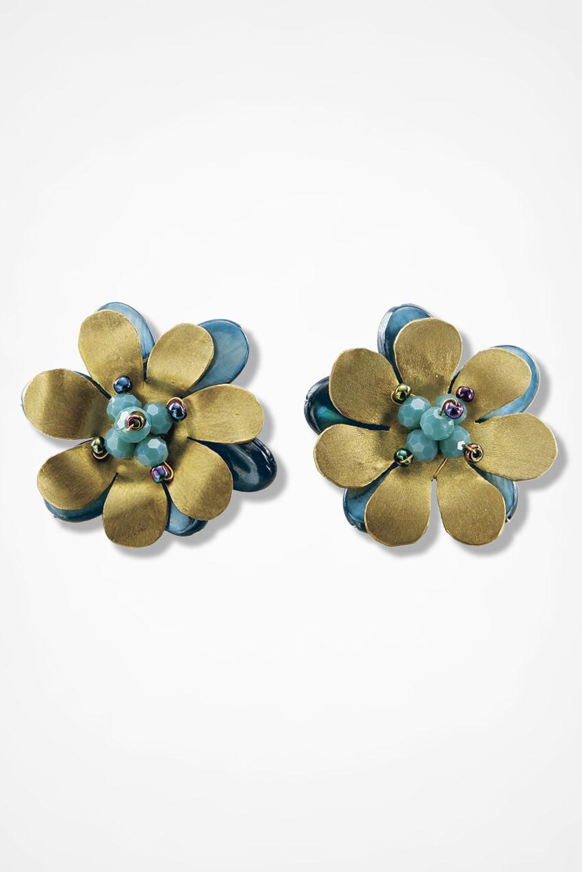 Flower Earrings Coldwater Creek