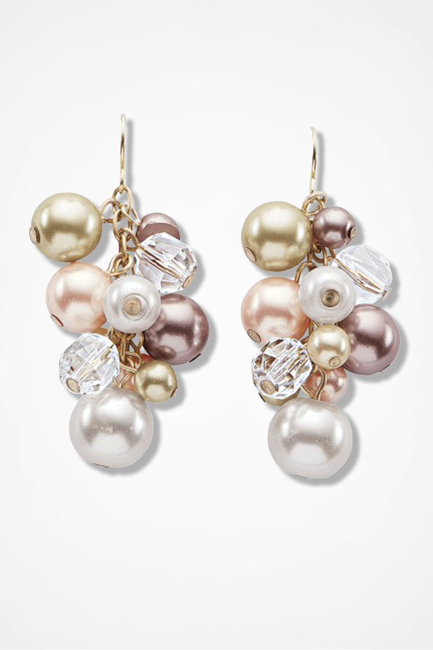 Champagne Toast Earrings By Lenora Dame