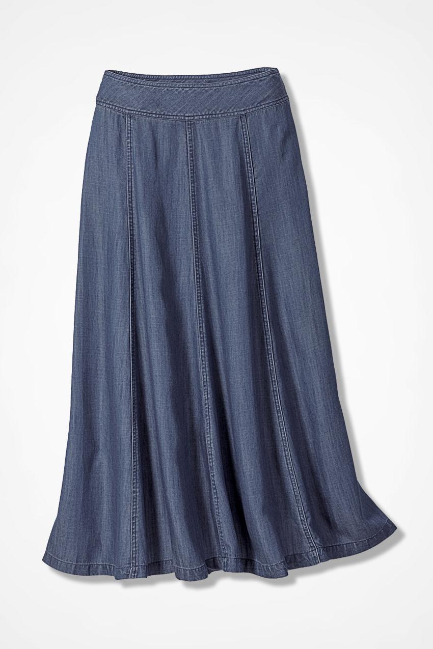 Gored Tencel® Skirt - Women's Skirts | Coldwater Creek