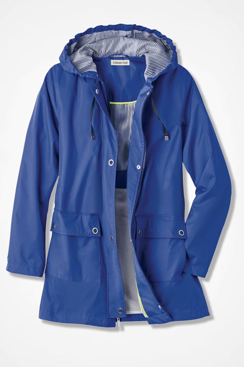 premium selection ae125 d640c Cloud Chaser Rain Jacket - Coldwater Creek