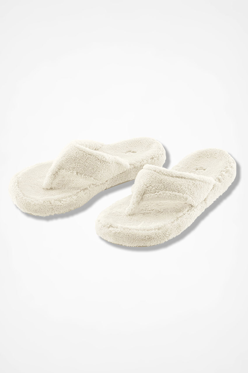 """3aeb4a9e6901 Spa Thong"""" Slippers by Acorn® - Coldwater Creek"""