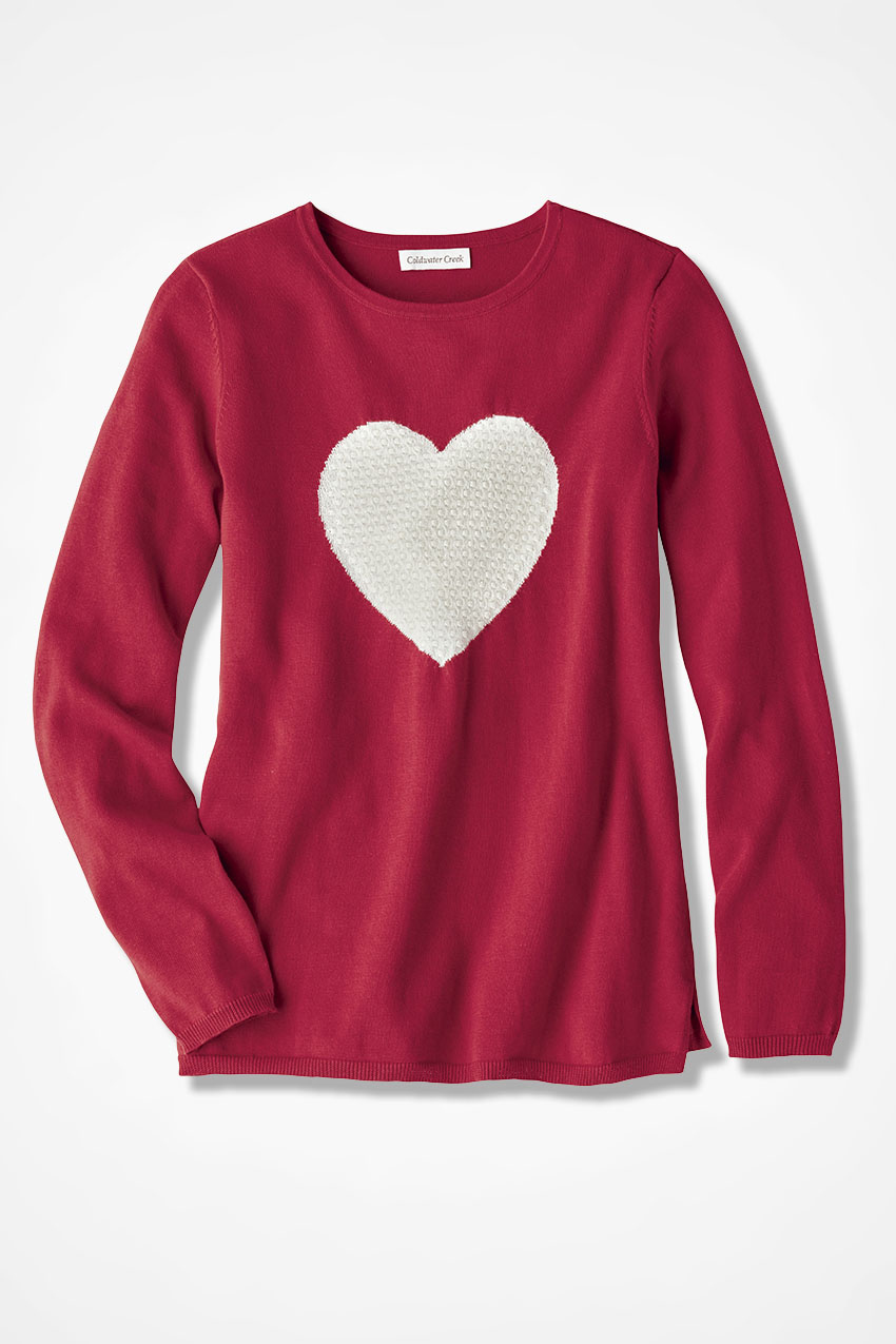 heart sweater