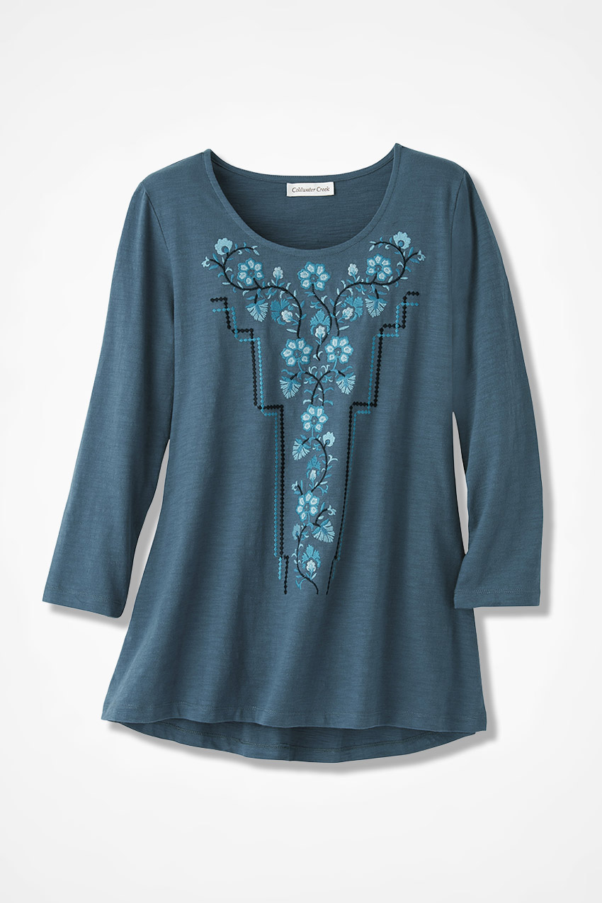 Best Prices For Sale Outlet Best Place Linen shirt with embroidery WANDERING Affordable Cheap Price Outlet Newest Big Sale Cheap Online fDfjYvmW