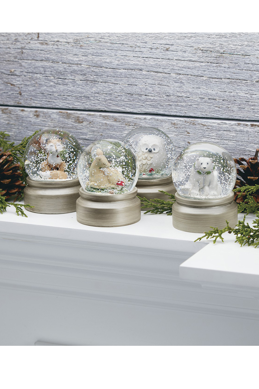 fox snow globe coloring pages - photo#22