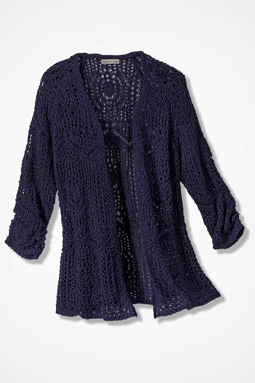 Marled Cotton Sweater