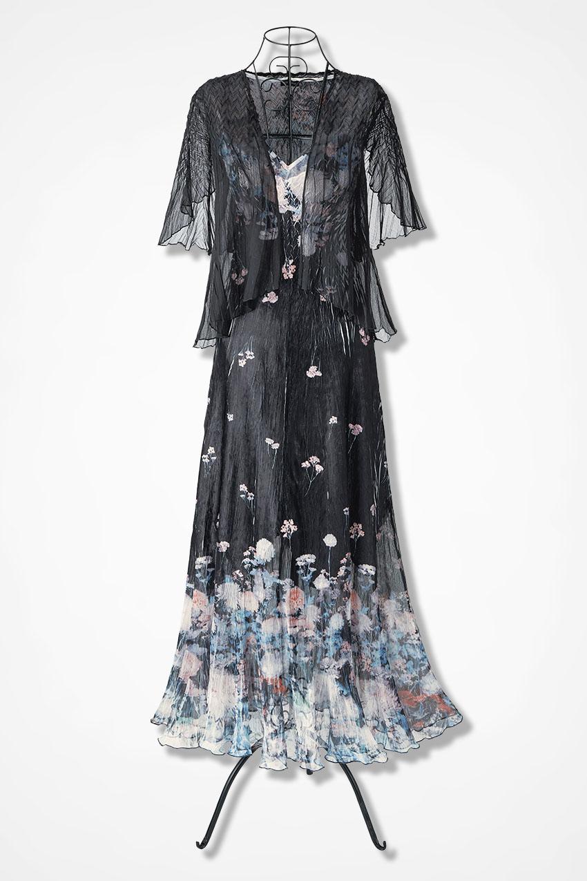 Still of the Night Jacket Dress by Komarov